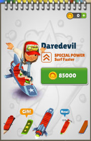 Subway Surfers: Daredevil